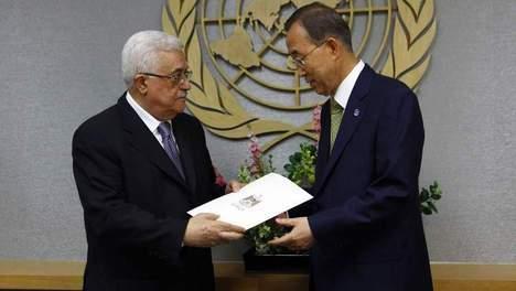 Abbas demande l'adhésion d'un État palestinien à l'ONU