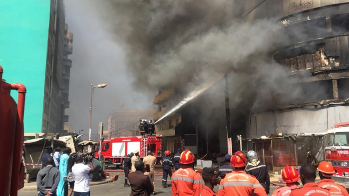 Incendie «Métropolitain Centre  commercial » : 2 victimes dont un nourrisson... Le feu maîtrisé... Les causes encore inconnues