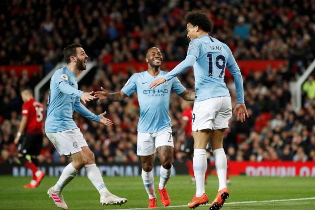 Premier league : City remporte le derby de Manchester (2-0), et retrouve la tête du classement devant Liverpool