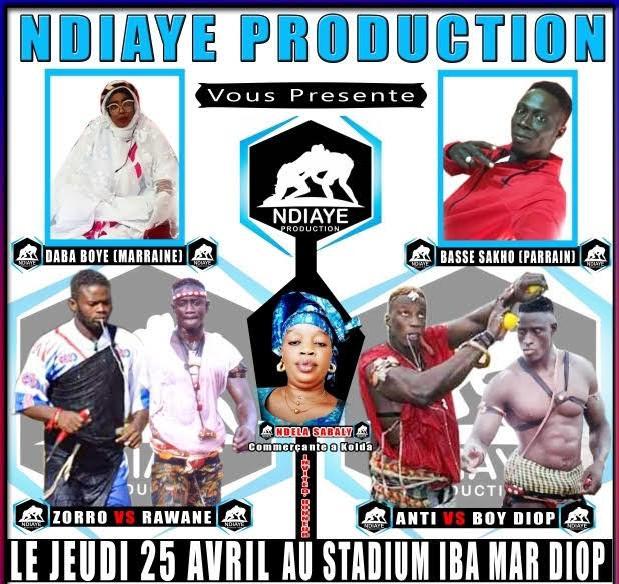 Ndiaye Production : Les combats des espoirs à suivre en direct sur Dakaractu à partir 17 heures
