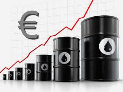 Le pétrole grimpe très fortement, porté par l'optimisme sur la zone euro