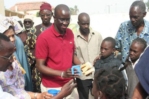 Président AKMD Mr Ousmane KANTE répond au ministre Mr Kalidou Diallo