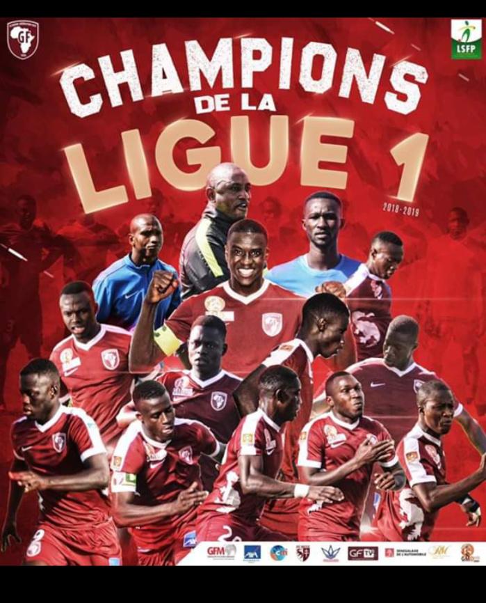 Ligue 1 : Génération Foot sacré champion suite à sa victoire (3-0) sur Mbour Petite-Côte