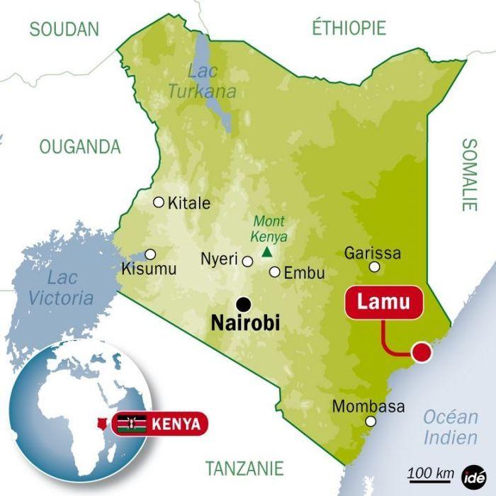 Les ravisseurs de la Française enlevée au Kenya encerclés