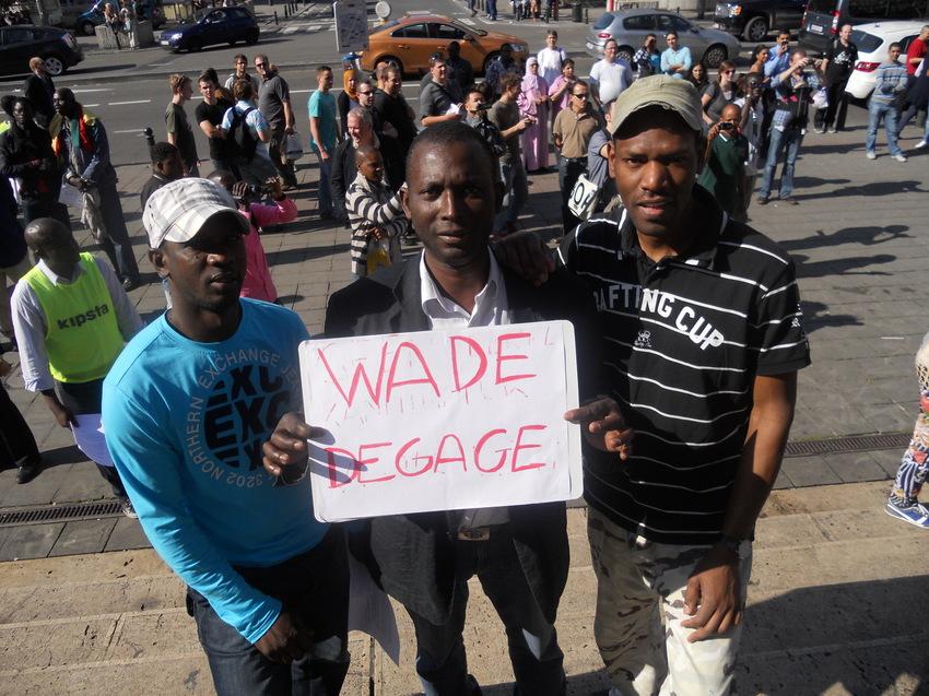 Belgique: Non à la candidature anticonstitutionnelle d'Abdoulaye Wade
