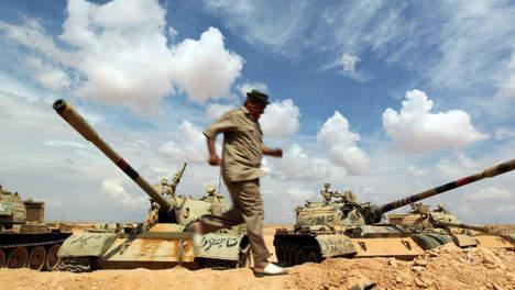 Le village natal de Kadhafi sous contrôle