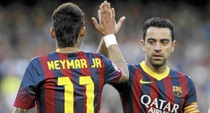 Barça : Neymar rend hommage à Xavi