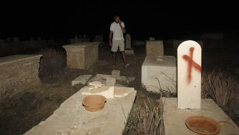 Israël : Des tombes musulmanes et chrétiennes profanées à Jaffa