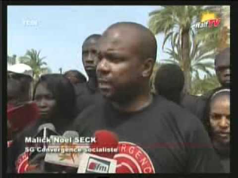 Malick Noël Seck, coordonnateur de Convergence socialiste, convoqué par la Dic (AUDIO)
