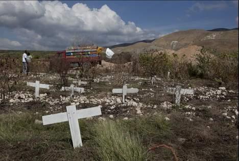 Le choléra sème la mort à Haïti