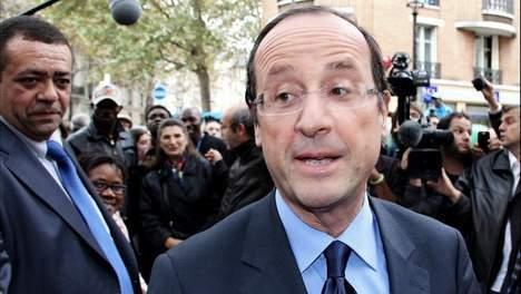 Hollande devant Aubry au 2e tour de la primaire
