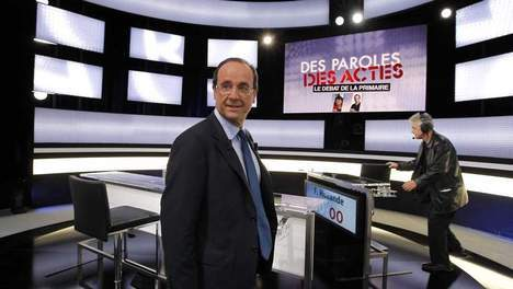 Hollande l'emporterait sur Aubry avec 53% des suffrages