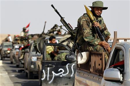 Libye: les forces du CNT perdent à nouveau du terrain à Syrte