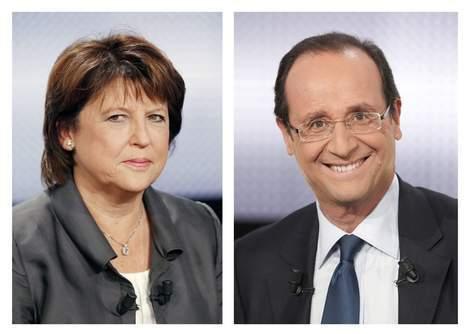 FRANCE  : Aubry ou Hollande pour la présidentielle?