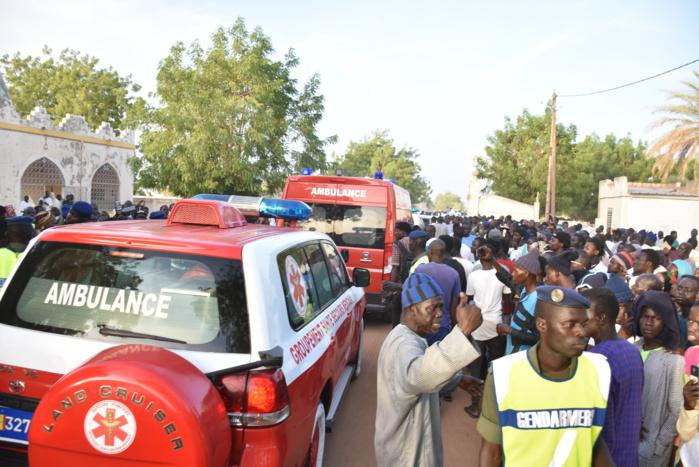 Les images de la levée du corps de Cheikh Béthio Thioune à Touba