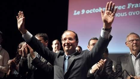 Hollande a remporté la primaire socialiste