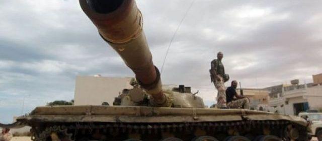 Les combattants pro-CNT sont entrés dans Bani Walid