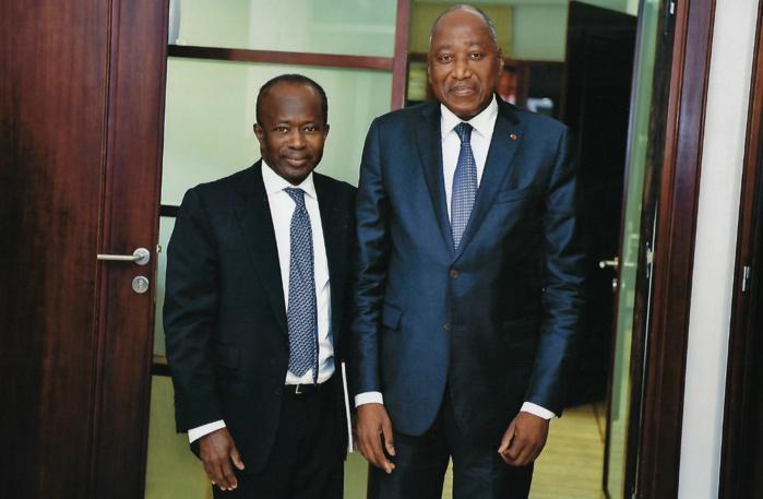 APERÇU EN CÔTE D'IVOIRE ET À COPENHAGUE / Diagna Ndiaye visiblement en tournée dans le cadre de la préparation des Jeux Olympiques de la Jeunesse à Dakar en 2022.