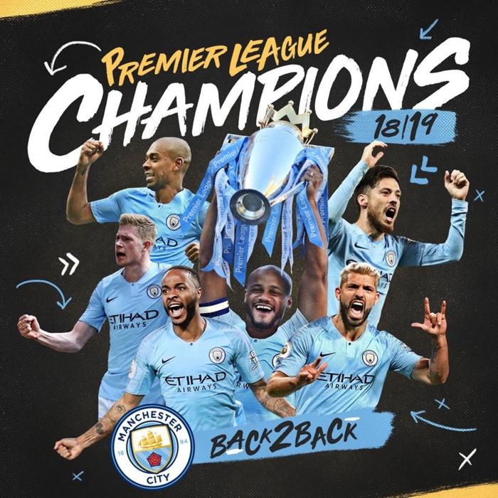 Angleterre / Premier League : Manchester City conserve son titre de champion