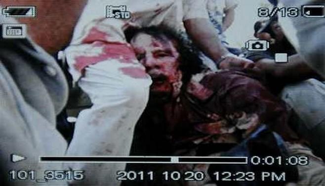 Kadhafi tué près de Syrte ( PHOTO )