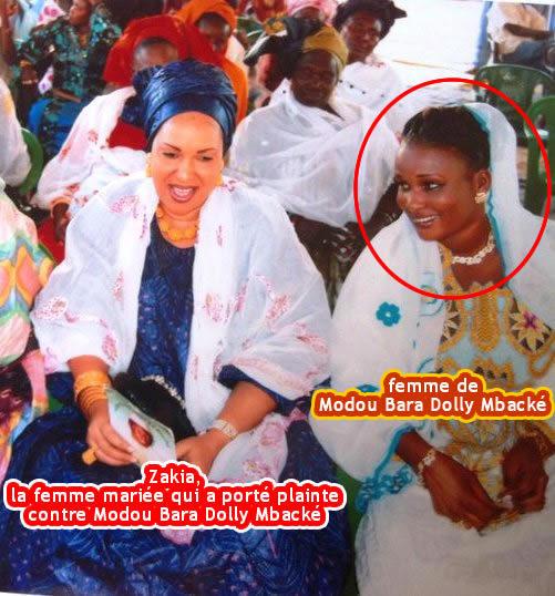 Photos nues : Serigne Bara Dolly Mbacké condamné finalement à 1 mois de prison ferme...