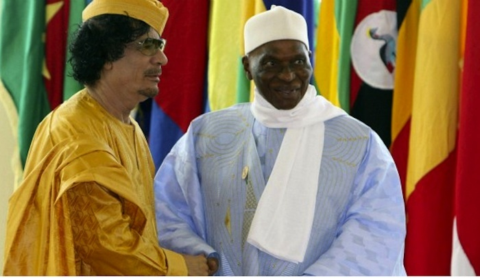 Exclusif ! La dernière lettre de Kadhafi à Wade.