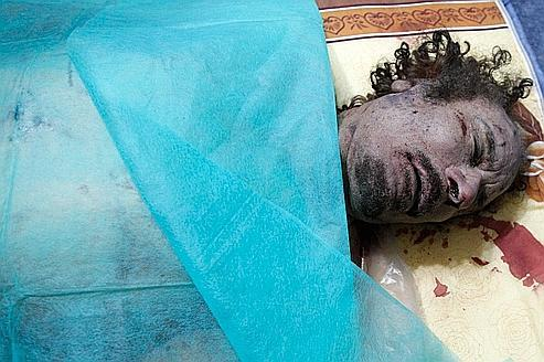 Ce que l'on sait de la mort de Kadhafi