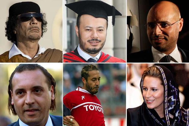 La famille Kadhafi réclame les dépouilles de l'ex-leader et de son fils