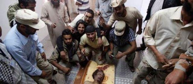 La dépouille de Kadhafi enterrée dans un lieu secret