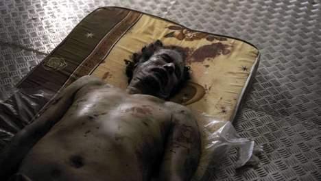 Pas d'autopsie sur le corps de Kadhafi