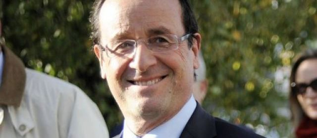 Hollande investi officiellement candidat PS pour 2012