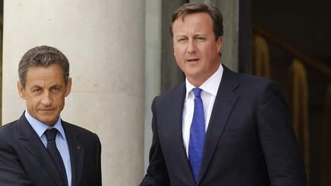 Altercation entre Sarkozy et Cameron au sommet européen
