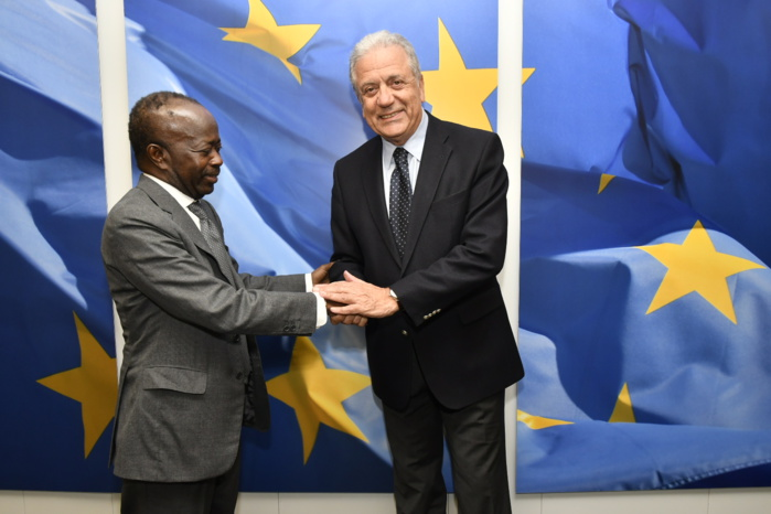 EN MODE FAST-TRACK POUR LES JO DE DAKAR /  Diagna Ndiaye rencontre des commissaires Européens à Bruxelles et s'entretient avec le Président Sall à Paris