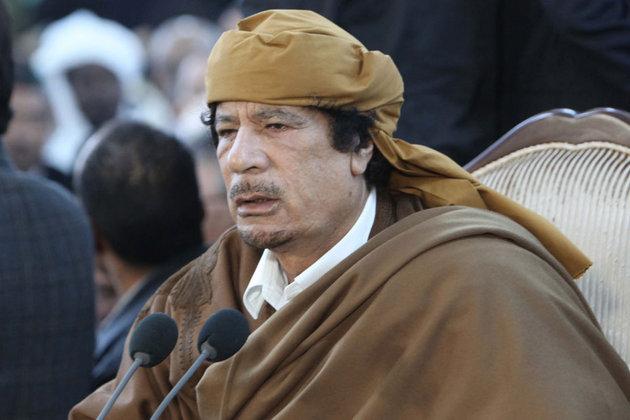 La fin des haricots pour le guide libyen