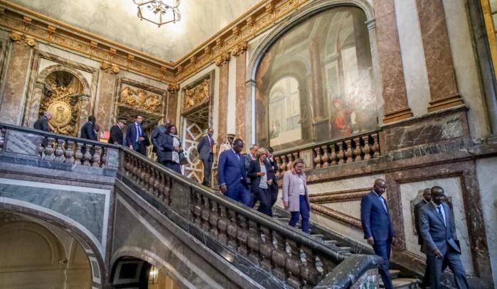 Château de Versailles : Macky Sall à l'exposition « Architectures rêvées 1660-1815 »