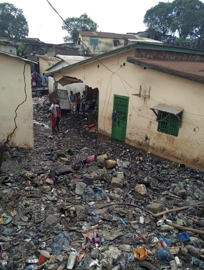 Guinée : Inondations meurtrières dans un quartier de Conakry