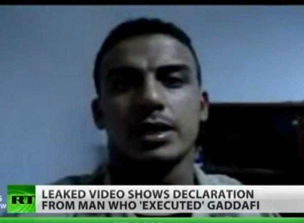 """""""L'éventuel meurtrier de Kadhafi sera poursuivi"""""""