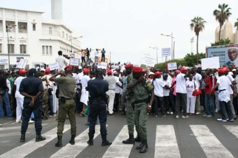Report de la marche des ressortissants de Fanaye à Dakar