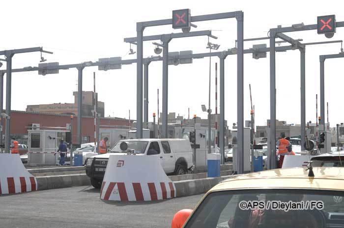 Me Wade ouvre la mise en péage de l'autoroute de Dakar