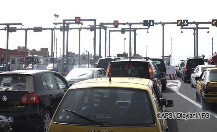 Autoroute à péage : inauguration en grand désordre.