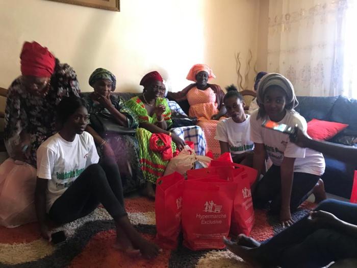 Solidarité Ramadan : Les femmes vulnérables de Yoff, Diamniadio, Ouest-Foire soutenues en denrées alimentaires