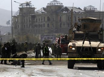 Afghanistan : treize soldats de l'Otan tués lors d'une attaque-suicide à Kaboul