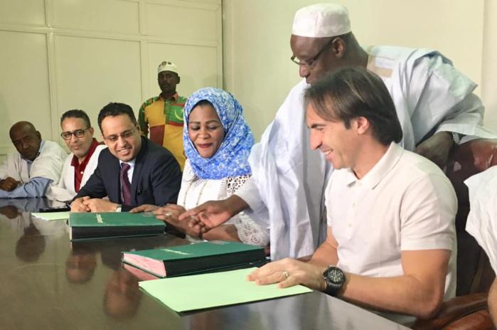 CAN 2019 : Les 23 de Corentin Martins, sélectionneur de la Mauritanie.