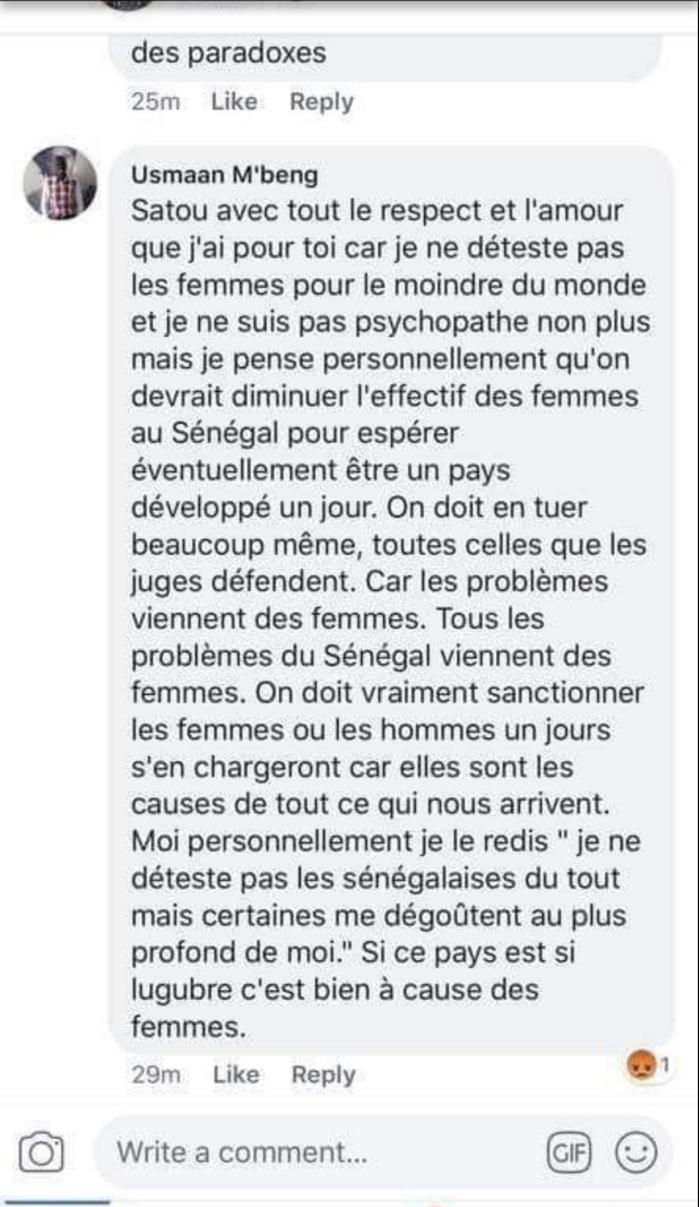 Cybercriminalité : Ousmane Mbengue arrêté, pour avoir appelé à «tuer les femmes au Sénégal»