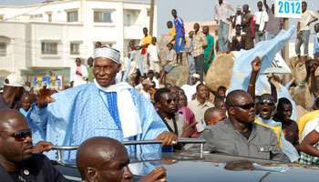 Abdoulaye Wade rassemble ses troupes !