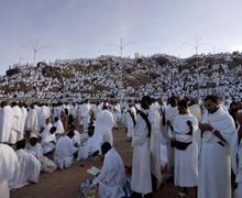 PELERINAGE  2,5 millions de musulmans ont débuté le rituel du haj