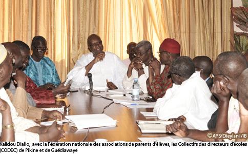Suspension de directeurs d'école : Kalidou Diallo décide de lever la sanction