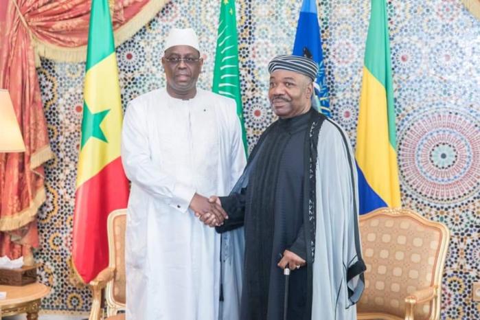 Gabon : Macky Sall au chevet de son homologue Ali Bongo Ondimba, malade.