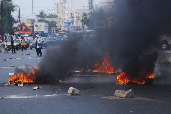 Dernière minute: Les marchands ambulants mettent le feu un peu partout à Dakar !