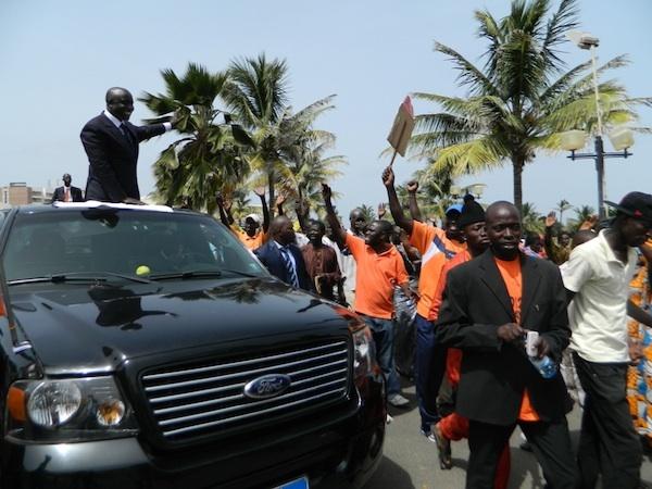 Préparation de la campagne électorale de 2012 : Idrissa Seck met le paquet en achetant 24 véhicules 4X4